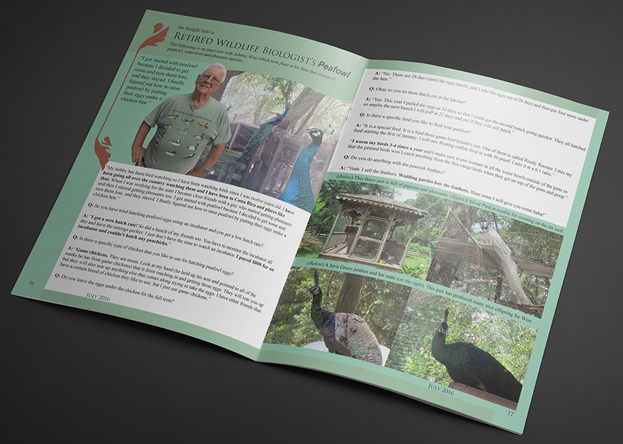 Retired Wildlife Biologist Article Spread